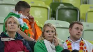 جماهير ايرلندية