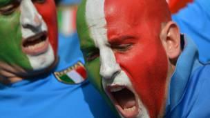 Евро-2012, итальянские болельщики. Фото: asarych