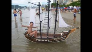 """Foto de un lector de BBC Mundo por el tema """"navegar""""."""