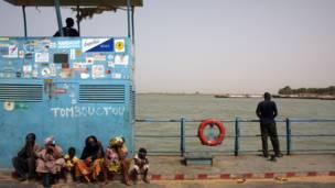 Uruzi Niger hafi ya Tombouctou.