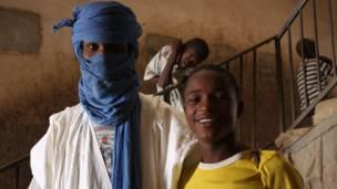 Suleymane(i buryo) n'umugenzi w'umu Tuareg.