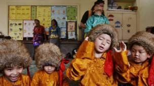 तिब्बती बच्चे