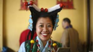 तिब्बती महिला