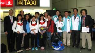 Đoàn Olympic VN tới London