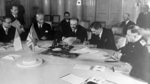 La Declaración de las Cuatro Naciones