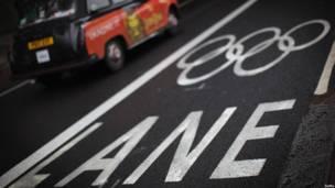 Olympics lane