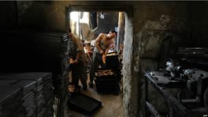Пекарня в Мазари-Шарифе