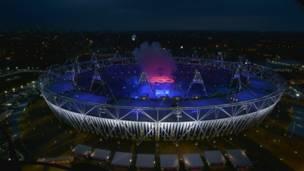 लंदन ओलंपिक उद्धाटन समारोह