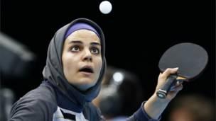 伊朗乒乓球女選手