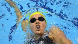 Stephanie Rice, nadadora australiana