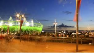 奥林匹克公园夜景