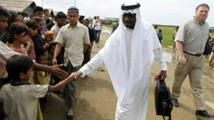 Diplomats visit Sittwe