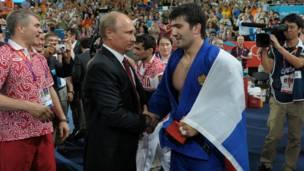 Tổng thống Nga Vladimir Putin tới dự trận chung kết Judo