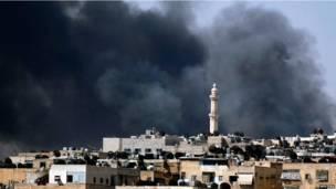 قصف في حلب