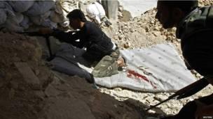 قتال في حلب