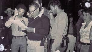 """Manuel Marulanda, """"Tirofijo"""", fundador de las FARC"""