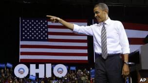 Obama en Ohio