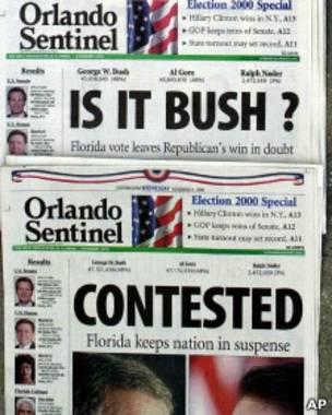 Elecciones Bush vs. Gore