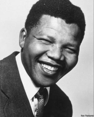 Nelson Mandela en 1956 (foto: Rex Features).