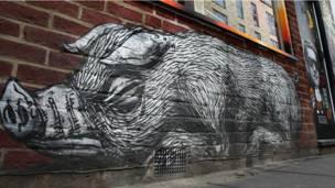 """""""O porco selvagem"""", de ROA"""