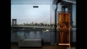 Câmera Escura: Vista da Manhattan Bridge, 2010