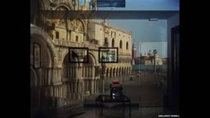 Câmera Escura: Piazzetta San Marco vista do escritório, 2007
