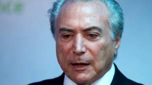 Vicepresidente brasileño, Michel Temer.