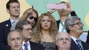 Shakira y la madre de Pique