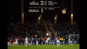 'yan wasan Monaco da na Chelsea