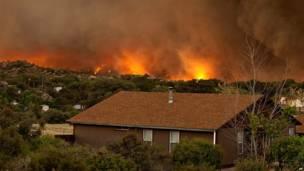 Kebakaran di Yarnell, AP