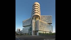 Rush University Medical Centre New Hospital Tower. James Steinkamp Photography