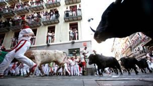 स्पेन में बुल फाइटिंग