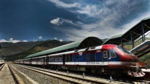 कश्मीर, रेल