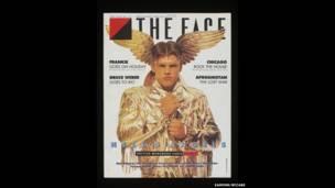 Capa da The Face (Hell's Angels Cover)  Artista: Lloyd Johnson. Foto: Eamonn Mccabe