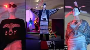 Imagens da exposição do V&A.