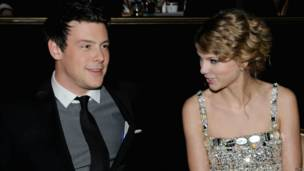 Cory Monteith y Taylor Swift