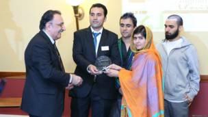 अफगान स्टूडेंट असोसीएशन के चेयर पर्सन सैयद शाह खरोटाल.