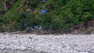 उत्तराखंड बाढ़ प्रभावित क्षेत्र