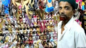 Pedagang sepatu