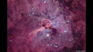 Eta Carinae y su cerradura © Michael Sidonio