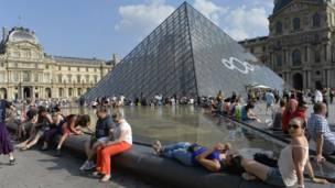 Museum Louvre, Paris, AFP
