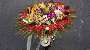 फूलों की परेड