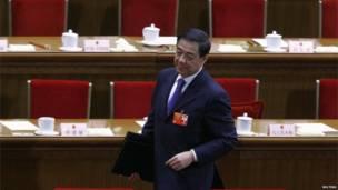 Bo Xilai saat sidang parlemen Cina 2012, Reuters