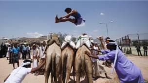 यमन में सना समर फेस्टिवल