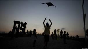 इसराइल में पतंगों का वार्षिक उत्सव
