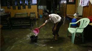 Rangoon floods