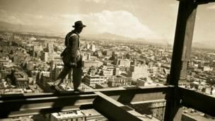 Construcción de la Torre Latinoamericana