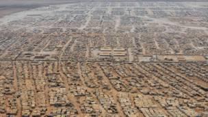 sansan 'yan gudun hijira na Zaatari