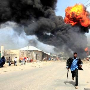 सोमालिया की राजधानी मोगादिशु