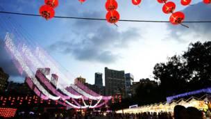 लालटेन उत्सव, हांगकांग, एलईडी लाइट, फेस्टिवल